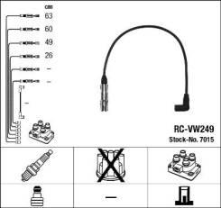 Провода зажигания к-т RC-VW249 7015