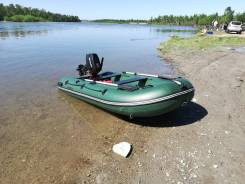 Продам комплект. Лодка Аляска 3.30 и мотор сузуки15.