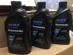 Kawasaki. 10W-40, 1,00л.