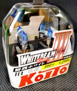 Лампы галогенные Koito Whitebeam P0751W . H1. Комплект 2 шт. В наличии!