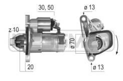 Стартер 12V 1,0 Kw (доставка 2-3 часа) ERA [220579]