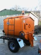 РЦА-3,5. Рециклер полуприцеп тракторный, 3 500кг.