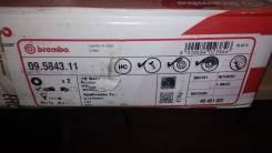 Диск тормозной передний Bipper Tepee FIAT Doblo/Panda 1.4 06- 257.2*22