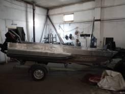 Лодка джонбот Казанка 6