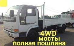 Nissan Atlas. 4WD, борт 3 тонны, 4 200куб. см., 3 000кг., 4x4