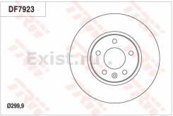 Диск тормозной Передний Opel Astra J zafira C