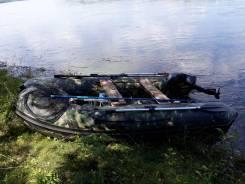 Продам лодку Nordik 330 с мотором Tohatsu 9.8