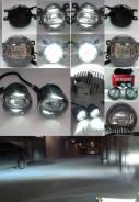 Комплект светодиодных противотуманных фар D 90мм