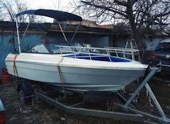 Мото лодка Thunder Craft с мотором и прицепом