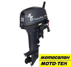 Лодочный мотор Allfa CG T20 (2-такт. )