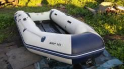 Лодка ПВХ Aleut 360 в хорошем состоянии.