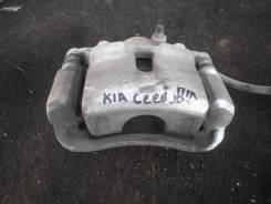 Суппорт тормозной передний левый kia Ceed JD