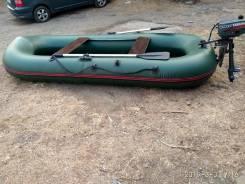 "Лодка ПВХ ""Beluga TUZ 320"" с лодочным мотором Yamaha-2"