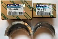 Вкладыши коренные KOMATSU 6D102/4D102 STD ORIGINAL