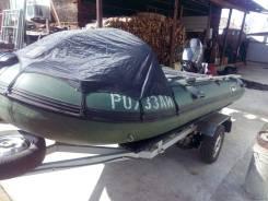 Лодка 420 + мотор 25 + телега