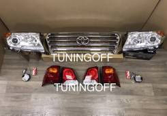 Рестайлинг Toyota Land Cruiser 200