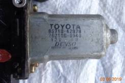 Моторчик стеклоподъемника. Toyota: XA, RAV4, Scion, Kluger V, Highlander Lexus ES300, MCV30 1NZFE, 1AZFE, 1AZFSE, 1CDFTV, 1ZZFE, 2AZFE, 1MZFE, 3MZFE