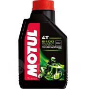 Масло моторное Motul 5100 4T 15W50 Technosynthese (1L)