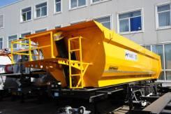 Orthaus. THP030 Самосвальный полуприцеп 30 м3 ССУ 1200 Хардокс, 31 180кг.