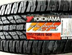 Yokohama Geolandar A/T G015,*Расширенная Гарантия - 1 ГОД. При грыже,порезе - бесплатная замена шины, 205/70 R15