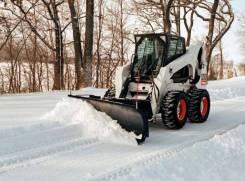 Новый снеговой отвал для минипогрузчика Bobcat в наличии