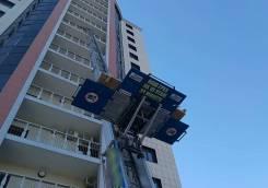 Подъёмник грузовой лифт для предметов и материалов до 14 эт мобильный