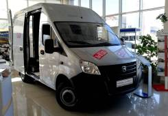 ГАЗ ГАЗель Next. (Цельнометаллический фургон), 2 776куб. см., 1 010кг., 4x2. Под заказ