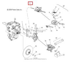 Тормозной шланг Polaris WT IQ 2204125
