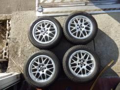 """16391 Комплект колес на BBS Bridgestone Blizzak REVO GZ 205/55 R16. 7.0x16"""" 5x100.00 ET35 ЦО 57,1мм."""