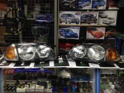 JDMStore | Комплект фар и габаритов Toyota Caldina 00-02