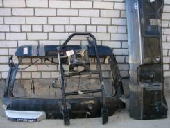 Б/У комплект двери LC100 с калиткой под запаску