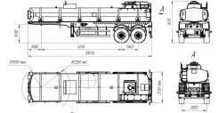 Foxtank ППЦ-20. Полуприцеп техвода ППЦ20, 25 000кг.