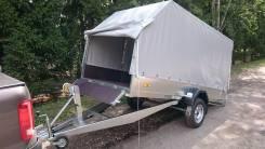 Прицеп для снегохода и грузов ССТ-08 кузов 300х150 Супер
