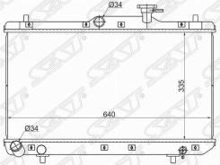 Радиатор Hyundai Accent (Tagaz) 1.3 / 1.5 / 1.6 00-