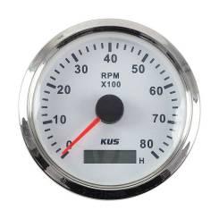 Тахометр 0-6000 об/мин со счетчиком моточасов