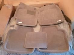 Ковры в салон бежевые 3D ворсовые с бортиком Camry 2006-2011 г