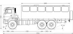 Автобус вахтовый 28 базовая, 2019. Автобусы вахтовые Камаз, 28 мест, В кредит, лизинг