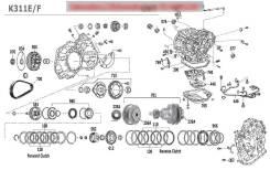 Датчик заднего хода АКПП. Toyota: Allion, Platz, ist, Vios, iQ, Avensis, Corolla, Probox, Opa, Avensis Verso, Estima, Vanguard, Sparky, Vellfire, Isis...
