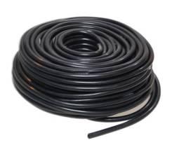 Шланг силиконовый армированный черный 8мм