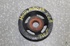Шкив коленвала. Suzuki: Wagon R Solio, Alto, Wagon R Wide, Swift, Wagon R Plus, Kei, Jimny, Wagon R Двигатель K6A