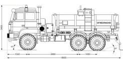 Урал 5557. АТЗ-11Б -80Е5 сп. м., 6x6