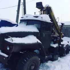 Урал. Лесопогрузчик, 10 850куб. см., 1 000кг.