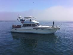 Аренда катера 17 метров. 12 человек