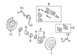 Шланг тормозной Toyota девять 0947-02970 k