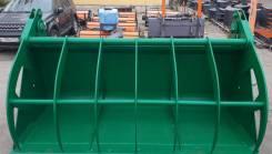 Ковш с прижимом объёмом 2 куб. м. для фронтальных погрузчиков