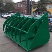 Ковш с прижимом объемом 2,5 куб. м. для фронтальных погрузчиков