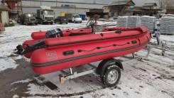Продам лодку Фрегат М 420 FM Lux+Yamaha 30