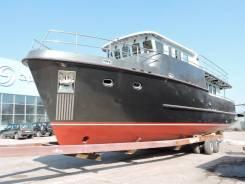 Производство великолепной яхты по индивидуальному заказу