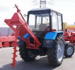 Навесная буровая установка НБУ-1300 на трактор МТЗ-82