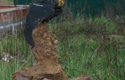 Траншейные серповидные ковши для маленьких экскаваторов до 2 тонн
